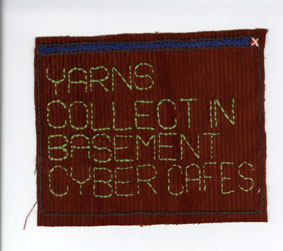 Yarn - Embroidered Digital Commons