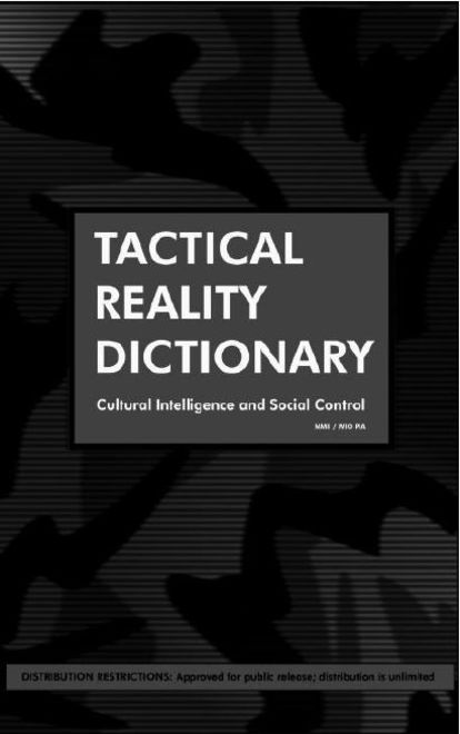 Tactical Reality Dictionary (cover)