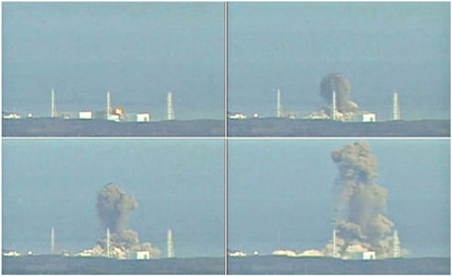 Fukushima nuclear power plant March 15, 2011