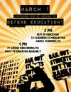 Defend Education - National Day of Action March 1, 2012