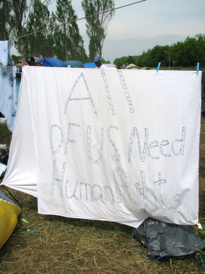 Refugee Camp Ter Apel (Netherlands)