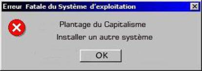 Fatal Error in the System of Exploitation