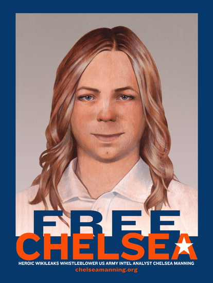 Free Chelsea Manning (poster)