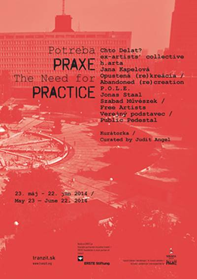The Need for Practice (exhibition poster)