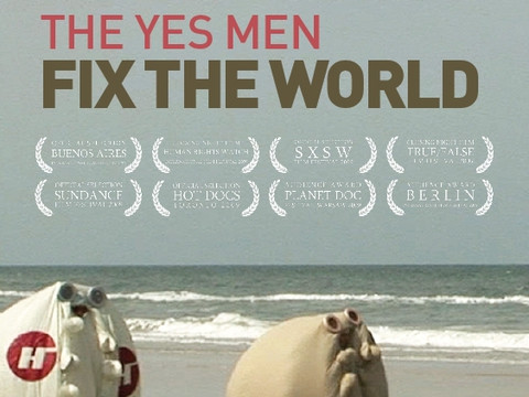 the yes men fix the world The yes men fix the world at an oil industry conference, the yes men introduce a wonderful new exxon miracle fuel made from the bodies of global warming losers.