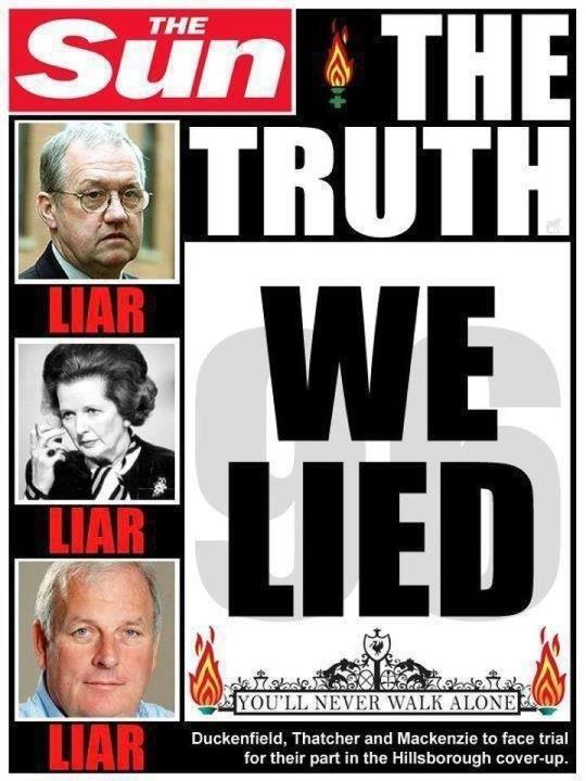 The Truth: We Lied