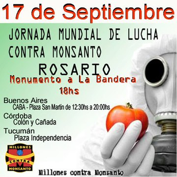Occupy Monsanto Rossario Argentina