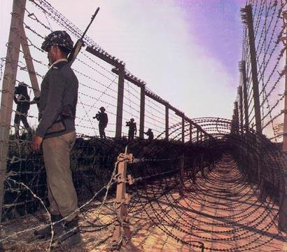 India - Pakistan border
