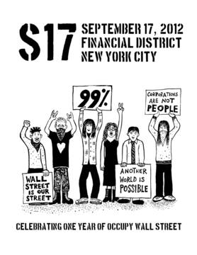 #S17NYC: Celebrating One Year of Occupy Wall Street