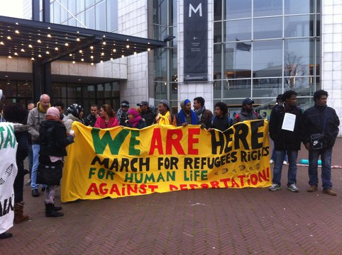 We Are Here March for Refugee Rights