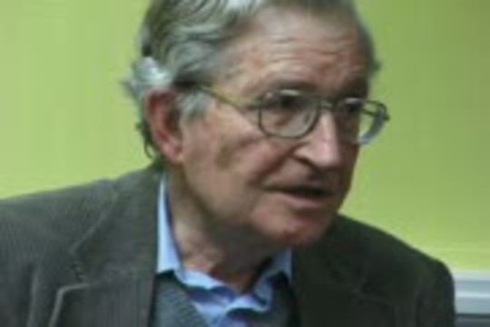 Informed Dissent: Noam Chomsky compares the anti-Iraq war movement with the Vietnam and other anti-war campaigns