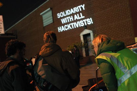 Solidarity With All Hacktivists