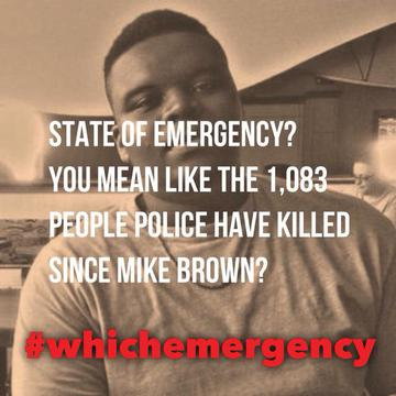 State of Emergency?