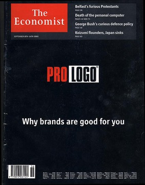 Pro Logo - The Economist's magazine cover