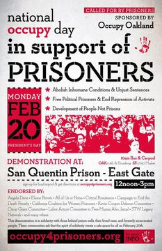 national occupy day in support of prisoners