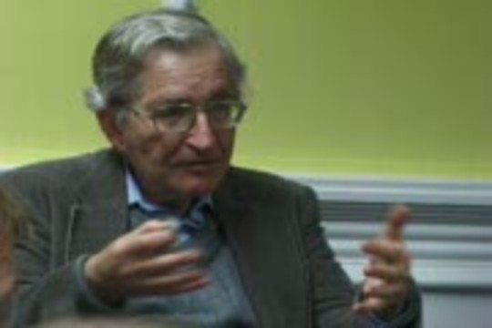 Informed Dissent: Noam Chomsky on education and military, the new economy, and the battles to control oil resources