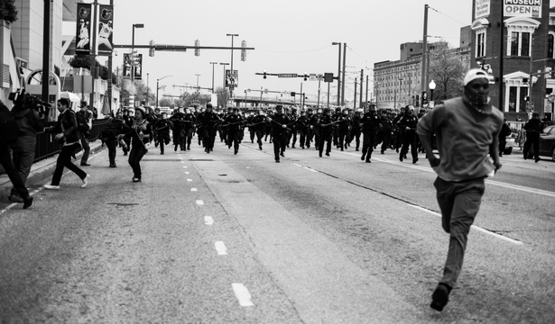 Devin Allen: A Beautiful Ghetto, Baltimore Uprising, 2015